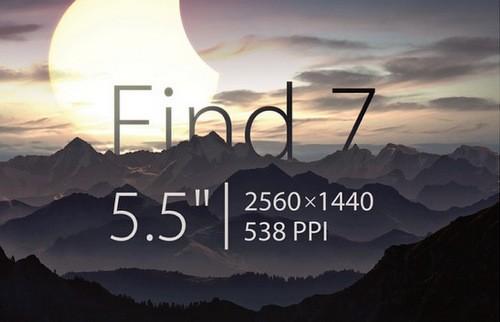 Trước đó, Oppo cũng tiết lộ smartphone Find 7 mới của hãng sẽ có màn hình 2K siêu nét.