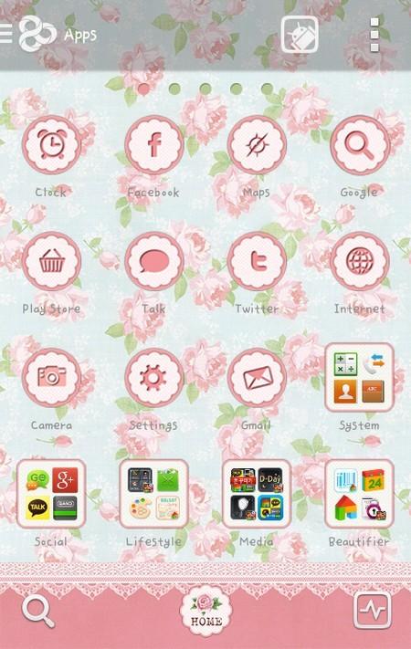 """Download bộ giao diện """"hoa cổ điển"""" miễn phí"""