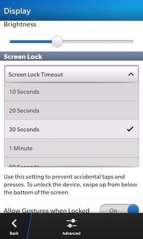 tiết kiệm pin, mẹo, blackberry z10, smartphone