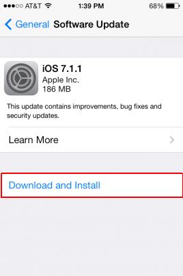 iOS 7.1.1, iPhone, iPad, iPod Touch
