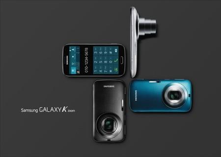 Ảnh chính thức của Galaxy K Zoom.