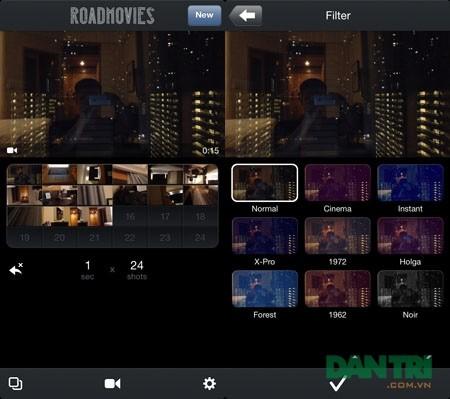 RoadMovie - Ứng dụng không thể bỏ qua dành cho người dùng iPhone