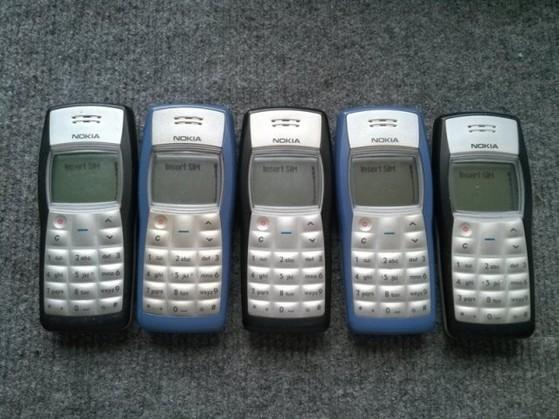 điện thoại, bán chạy nhất thế giới, Nokia 1100, 250 triệu chiếc