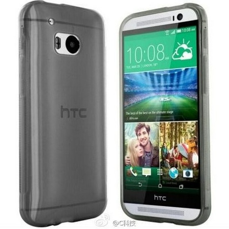 Lộ ảnh phiên bản thu nhỏ của HTC One M8, ra mắt vào tháng sau