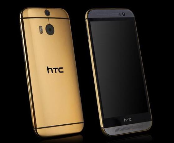 HTC One M8, mạ vàng, bạch kim