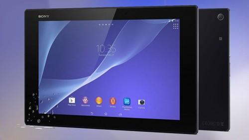 Sony Xperia Z2 Tablet.