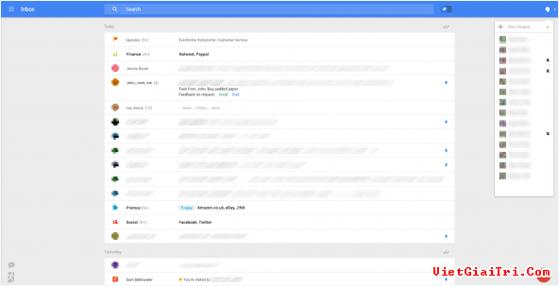 Gmail sắp được đại tu giao diện