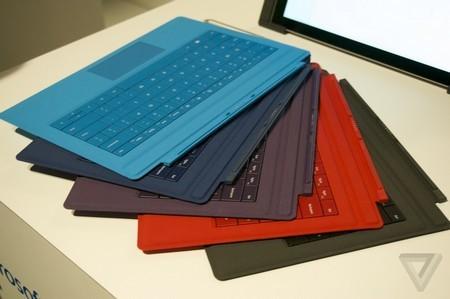 TypeCover với nhiều màu sắc khác nhau để lựa chọn