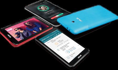 FonePad 7 mới vẫn có nhiều màu sắc để lựa chọn.