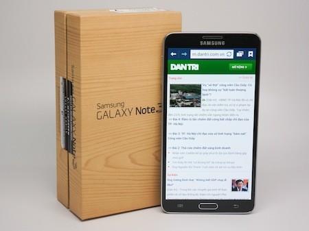 Hộp đựng của Galaxy Note 3 giống với Galaxy S4