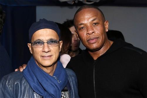 Jimmy Iovine và Dr. Dre.