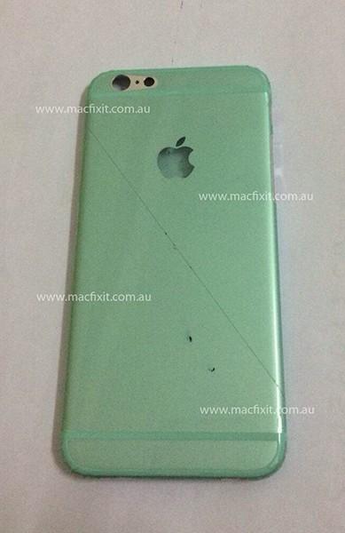 iPhone 6, hình ảnh, mặt lưng, mô hình, ảnh thật, nhà máy, sản xuất, Trung Quốc