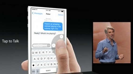 Những tính năng mới đáng chú ý được trang bị trên iOS 8 của Apple