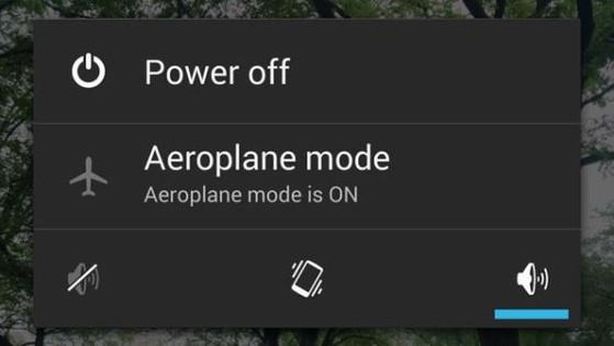 Chế độ Máy bay, smartphone, Airplane Mode