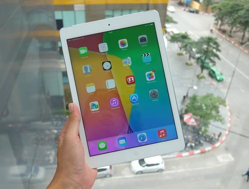 iPad Air.