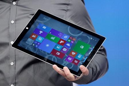 Microsoft có ý định giúp người dùngthay thế laptop bằng máy tính bảng Surface Pro 3 của mình.