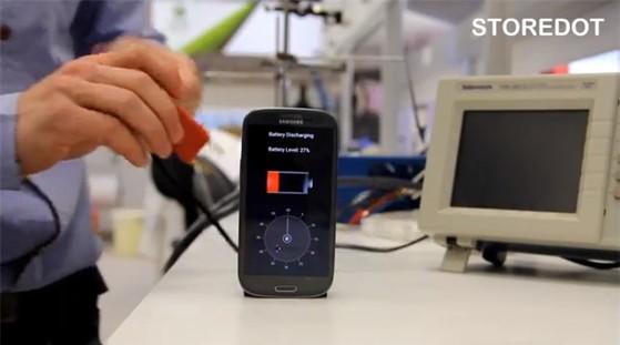 Xuất hiện công nghệ sạc đầy pin smartphone trong vòng 30 giây