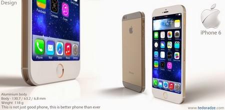 Ý tưởng thiết kế iPhone 6 tuyệt đẹp chạy nền tảng... iOS 9
