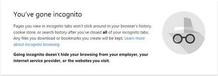 Biểu tượng mới (trên) và cũ (dưới) ở chế độ duyệt web ẩn danh trên Chrome
