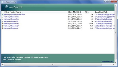 Tuyệt chiêu tìm kiếm dữ liệu siêu tốc trên Windows
