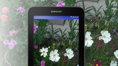 Samsung Galaxy Tab 3 Lite có màn hình mượt mà sắc nét