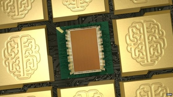 Siêu chip máy tính có kích thước bằng chiếc tem thư
