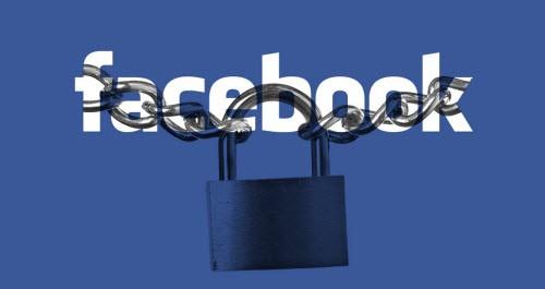 khoá Facebook