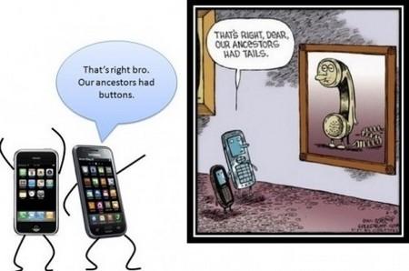 """Điện thoại di động: """"Tổ tiên của chúng ta có đuôi"""" (điện thoại bàn)"""