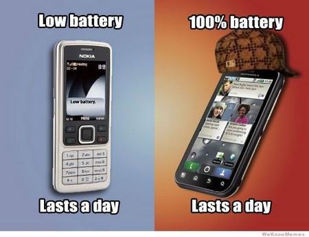 """Điện thoại """"cục gạch"""": Pin yếu, vẫn dùng được một ngày."""