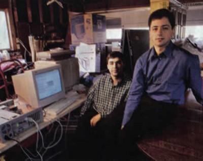 2 nhà đồng sáng lập của Google trong những ngày đầu thành lập công ty