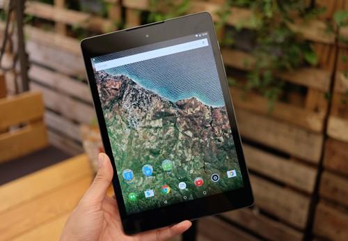 Google Nexus 9.