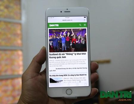 iPhůne 6 Plus so với iPhone 5s