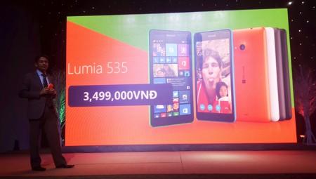 Đại diện Microsoft Devices Việt Nam công bố mức giá bán của Lumia 535
