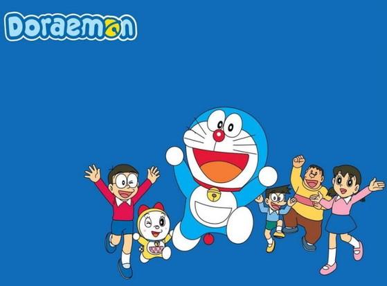 Chú mèo máy Doreamon cùng bạn bè như Nobita, Xuka, Chaien, Xeko mỏ nhọn ... đã giúp trí tưởng tưởng của bao thế hệ trẻ em bay bổng với những câu chuyện thú vị - Ảnh: CartoonsImages.com