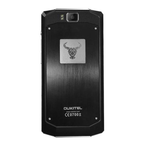 Oukitel K10000 có kiểu dáng mạnh mẽ và bền bỉ