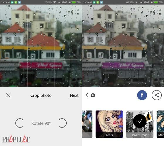 Prisma trên Android