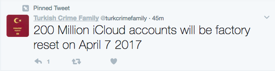 Tin tặc đe dọa xóa sạch 200 triệu tài khoản iCloud
