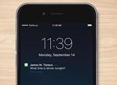 Cách tắt thông báo nhạy cảm trên iPhone
