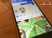 Thủ thuật chèn hình vào bàn phím smartphone