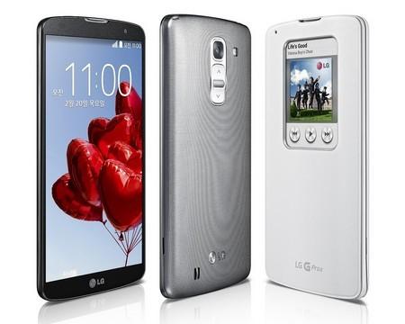 LG trình làng Optimus G Pro 2 hỗ trợ quay video Ultra HD