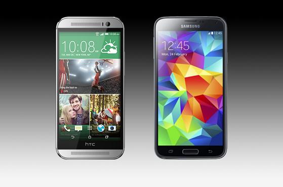 galaxy s5 giảm giá, galaxy s5 giá bao nhiêu, htc one 2014 giá bao nhiêu, mua galaxy s5 hay one m8