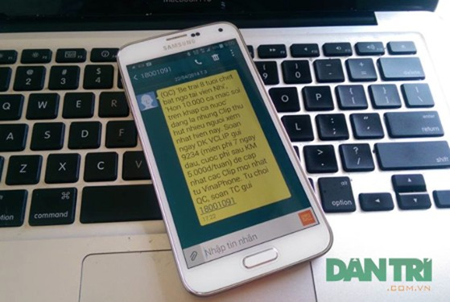 Vinaphone xin lỗi khách hàng vì sự cố trong việc cảnh báo bệnh sởi