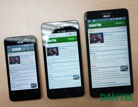 Cận cảnh bộ ba Zenfone sắp bán tại Việt Nam
