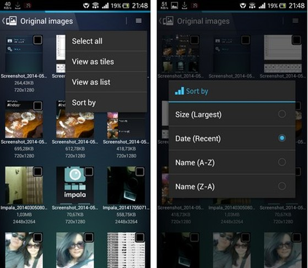 Thu nhỏ kích thước file ảnh để tiết kiệm dung lượng trên smartphone