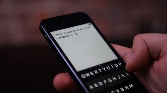 nhắn tin, bàn phím ảo, bàn phím qwerty, swype
