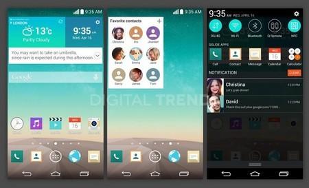 LG G3 bắt kịp xu thế với giao diện theo phong cách phẳng
