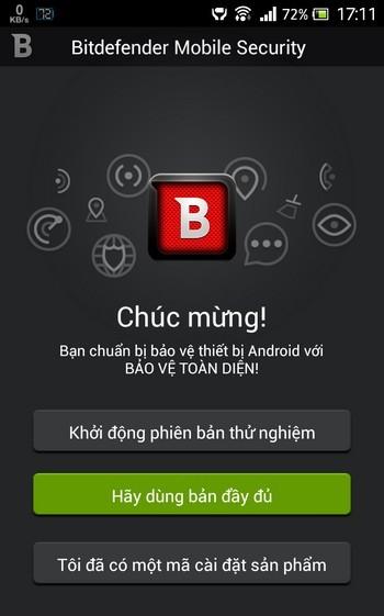 Ứng dụng bảo mật tốt và toàn diện nhất dành cho nền tảng Android