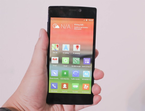 Gionee Elife S5.5 là smartphone mỏng nhất hiện nay. Ảnh: Huy Đức