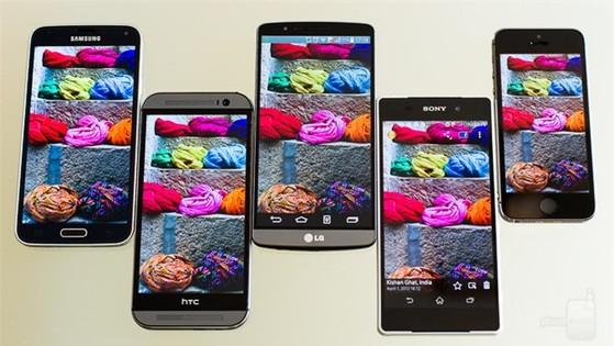 Smartphone nào có màn hình đẹp nhất hiện nay?