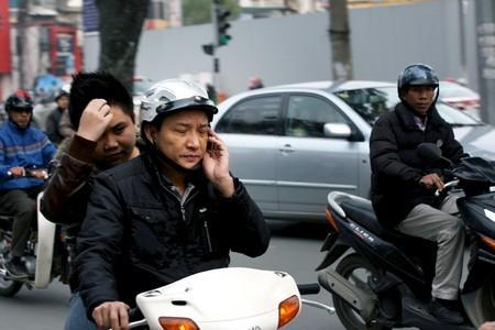 Hiện tượng này rất phổ biến trên mọi con phố.